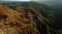Aerial Waimea Canyon, Kauai