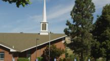 Church In Ashland, Oregon, Tilt Up Steeple