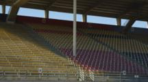 Bleachers At Track And Football Field, Southern Oregon University