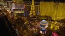 Las Vegas, The Strip At Night