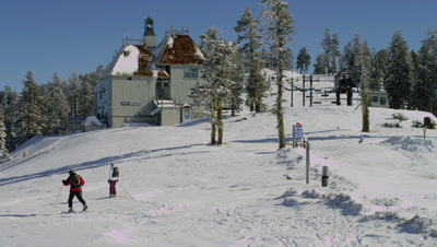 Skiers At Mt. Ashland