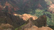 View Of Steep Canyon, Waimea Canyon Area, Kauai