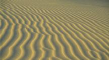 Blowing Sand Creates Ripple Pattern In Sand Dunes, Death Valley