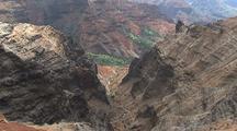 Lookout View Of Waimea Canyon, Hawaii