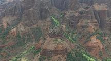 Aerial View Of Waimea Canyon, Kauai