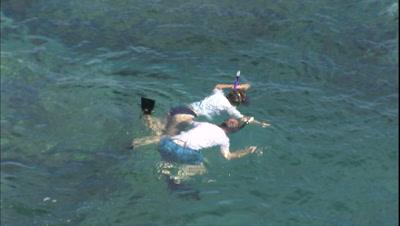 Snorkel Stock Footage