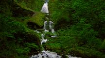 Waterfall At Columbia River Gorge, Oregon