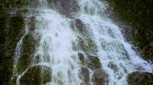 Waterfall Near Mount Rainier, Washington