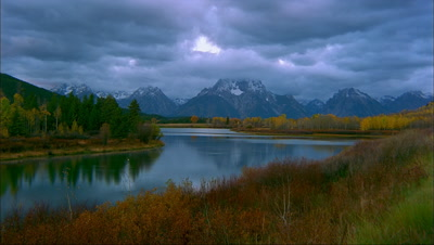 Grand Teton Time Lapse
