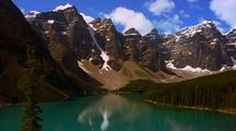 Scenic View Of Moraine Lake, Banff National Park