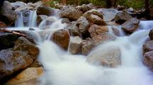 Time Lapse Of Creek At Yosemite National Park