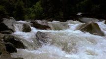 River Rapids Over Boulders, Yosemite
