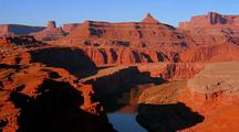 Time Lapse Of Sunset At Canyonlands National Park