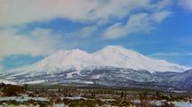 Time Lapse At Mount Shasta