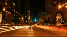 Time Lapse Of Michigan Avenue, Chicago