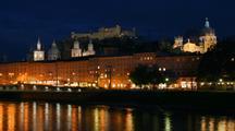 Time Lapse Of Salzburg Skyline