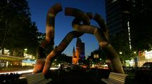 Time Lapse Of Berlin Sculpture