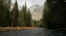 Time Lapse At Yosemite National Park