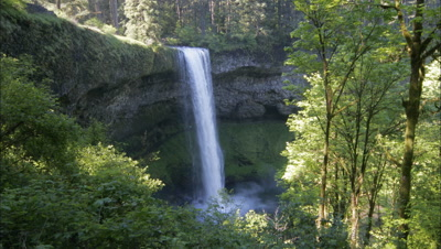 Time Lapse In Silver Falls State Park