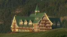 Prince Of Wales Hotel In Waterton Lakes National Park