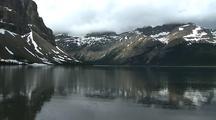 Lake Reflection At Banff National Park