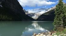 Reflection In Lake Louise, Banff National Park