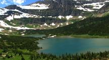 Aerial Views In Glacier National Park