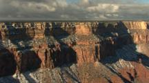 Snow Dusts Canyon Rim, Grand Canyon National Park