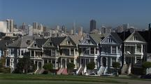 Victorian Houses The Seven Sisters, San Francisco