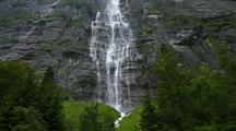 Time Lapse Waterfall, Interlaken, Switzerland