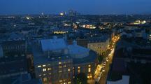 Time Lapse Dusk In Vienna, Austria