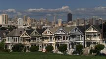 Victorian Houses, Seven Sisters In San Francisco