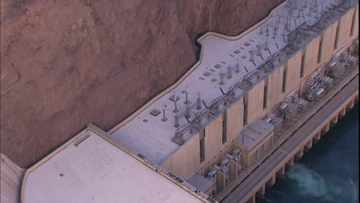 Looking Down On Hoover Dam