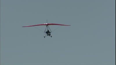 Ultralight Aircraft Stock Footage