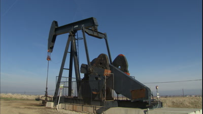 Petroleum Extraction Stock Footage