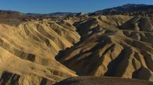 Overlook View Of Badlands In Death Valley