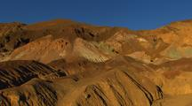Colorful Mineral Deposits In Death Valley