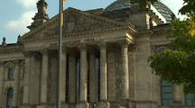 Berlin Parliament Building, Columns In Front