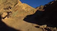 Walking, Hiking In Death Valley Canyon