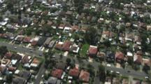 Downview Over Housing, Suberbs, Sydney, Australia