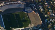 Aerial View Of Auckland, Eden Park Stadium