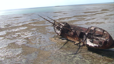 Shipwreck Stock Footage