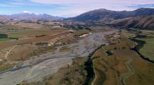 Aerial Blenheim Vineyards, New Zealand