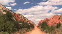 Cottonwood Road, Grand Staircase Escalante National Monument, Utah, Time Lapse, Zoom In