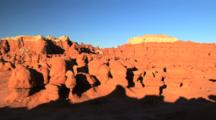Unique Eroded Rock Formation In Goblin Valley State Park, Utah, Zoom In