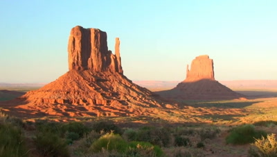 Sunset On The Mittens, Monument Valley Navajo Tribal Park, Time Lapse