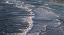 Looking Down On Incoming Waves, Oregon Coast