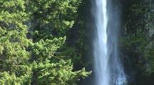 Latourell Fall Near Multnomah Falls, In The Columbia River Gorge, Near Portland, Oregon