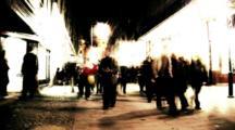 Time Lapse Night Street