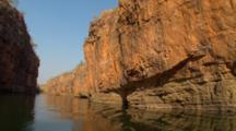 POV Travel Down Katherine Gorge, Northern Territory